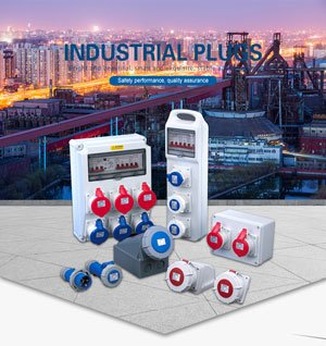 the cover photo of industrial plug and socket catalogue