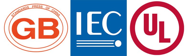 the main international standards for industrial socket and plug: IEC, UL, GB