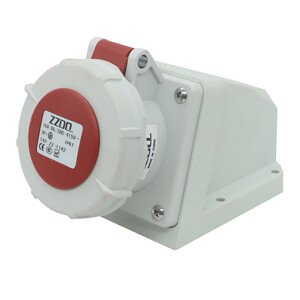 16amp socket 4-pin wall-mounted IP67