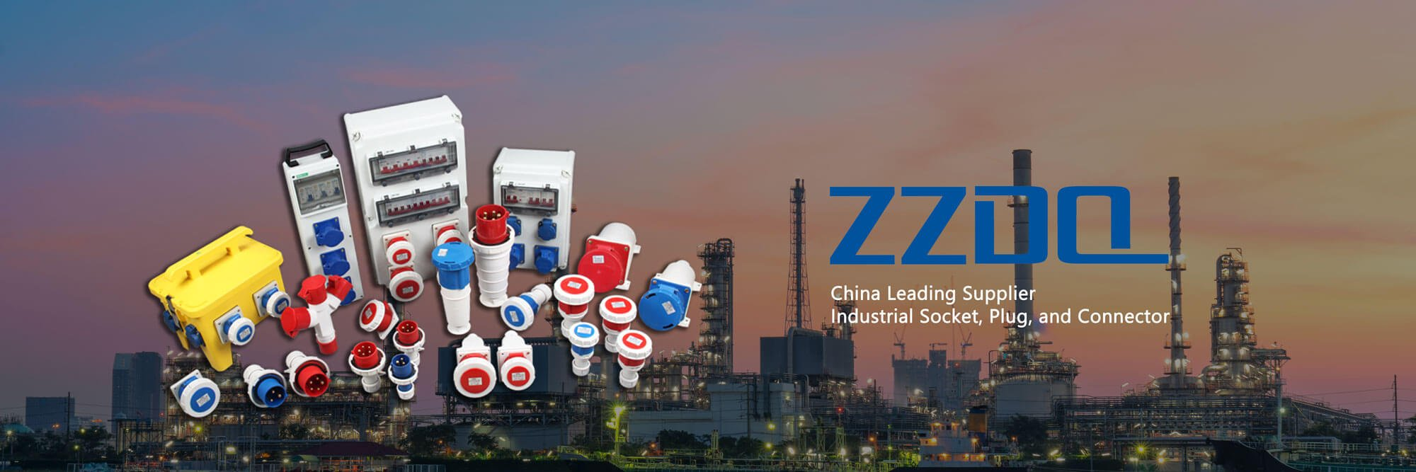ZZDQ is a Chinese supplier of industrial socket and plug